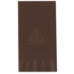 Paris Monogram Guest Towels