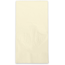 Elise Monogram Guest Towels