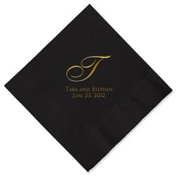 Serenity Personalized Napkins