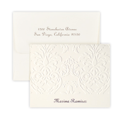 Damask Note - Triple Thick