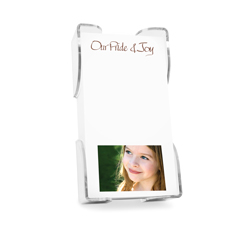 Family Photo Portrait List with holder
