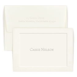 Knightsbridge Note on Cotton Paper - Single Thick