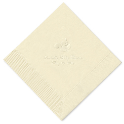 Forest Friends Embossed Napkins
