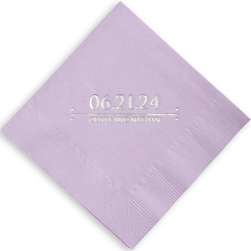 Our Special Day Personalized Napkins